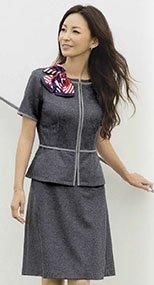 S-16430 16431 SELERY(セロリー) ニットAラインスカート(53cm丈) 99-S16430