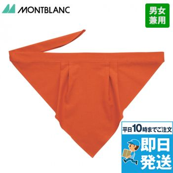 9-243 246 249 254 255 256 257 258 MONTBLANC 三角巾(男女兼用)