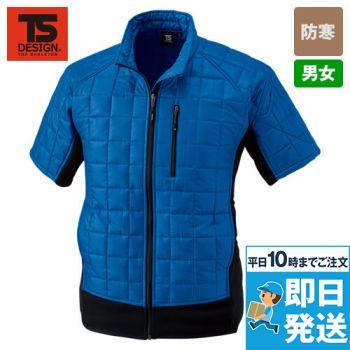 42256 TS DESIGN [秋冬用]マイクロリップショートスリーブジャケット(男女兼用)