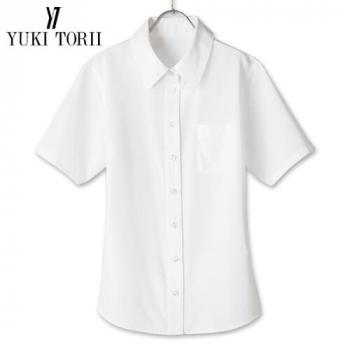 YT1701 ユキトリイ 半袖ブラウス エスメニガードSe加工 40-YT1701