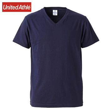 ファインジャージー Vネック Tシャツ(4.7オンス)