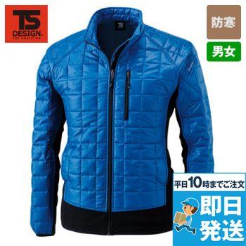 4226 TS DESIGN マイクロリップロングスリーブジャケット(男女兼用)