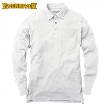 NR-406 イーブンリバー ソフトドライポロシャツ(長袖)