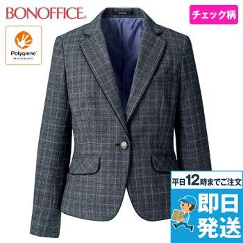 BONMAX AJ0267 ジャケット [チェック/ストレッチ/抗菌防臭] 36-AJ0267