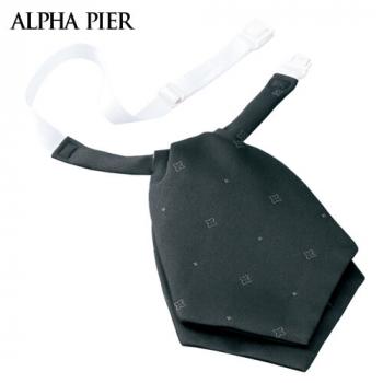 R913 アルファピア リボン(小紋柄のジャカード/ブラック) 40-R913