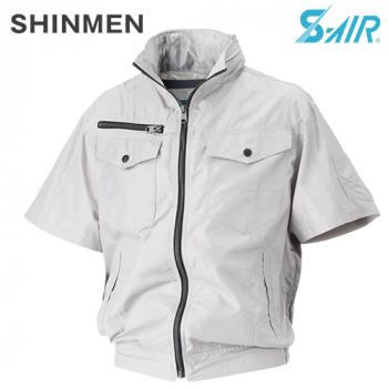 05811 シンメン S-AIR フードインハーフジャケット(男性用)