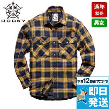 RS4901 ROCKY キルトシャツ(男女兼用)