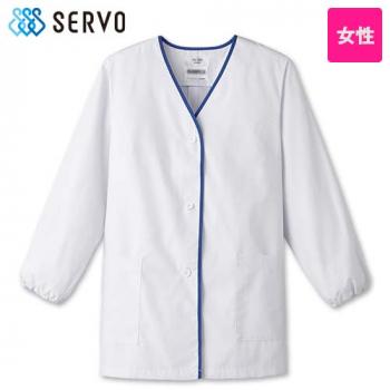 FA-348 SUNPEX(サンペックス) 長袖 デザイン白衣(女性用)