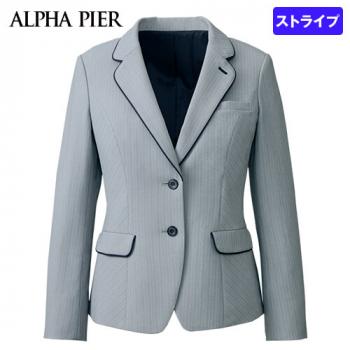 AR4880 アルファピア [通年]ジャケット [ストライプ/防シワ/防汚] 40-AR4880