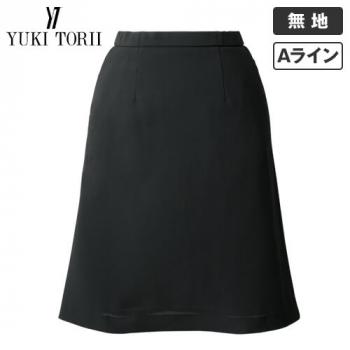 YT3716 ユキトリイ Aラインスカート 無地