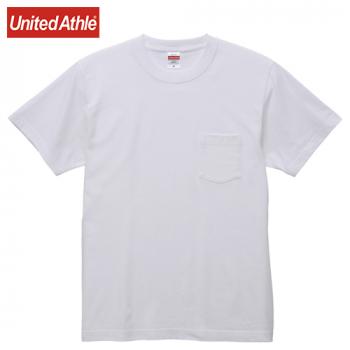 5.6オンス ハイクオリティーTシャツ(ポケット付)(男女兼用)