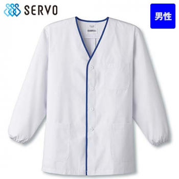 FA-346 SUNPEX(サンペックス) 長袖 デザイン白衣(男性用)