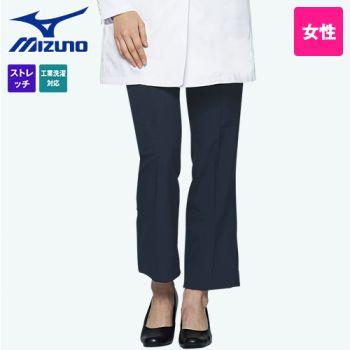 MZ-0087 ミズノ(mizuno) 美脚シルエット ストレッチパンツ(女性用)アジャスター仕様 股下マチ