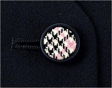 チェックのくるみボタン|ピンクチェックのくるみボタンで大人テイストに可愛さをプラス。
