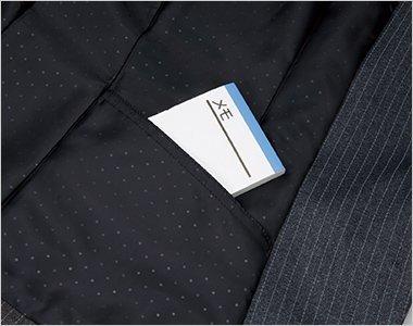 左内側シークレットポケット