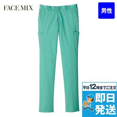 FP6005M FACEMIX ストレッチカラーチノパン/股下フリー(男性用)
