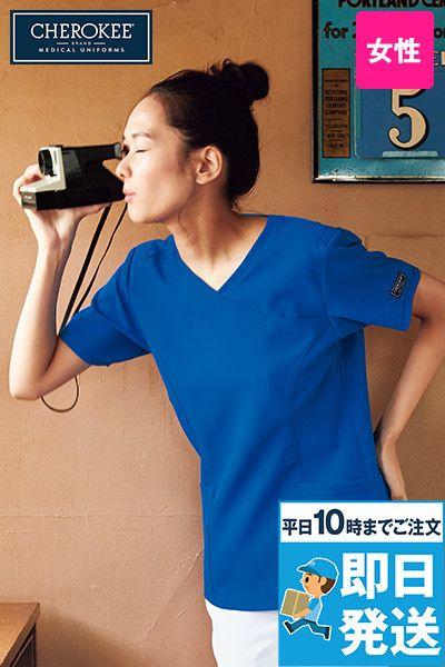 CH752 FOLK(フォーク)×CHEROKEE(チェロキー) レディーススクラブ(女性用)