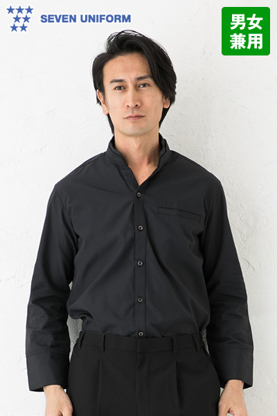 EH3319 セブンユニフォーム シャツ/七分袖(男女兼用)