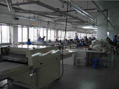 中国工場の風景