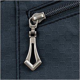 左ポケット デザインファスナー持ち手
