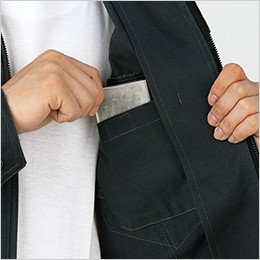 左胸 内ポケット