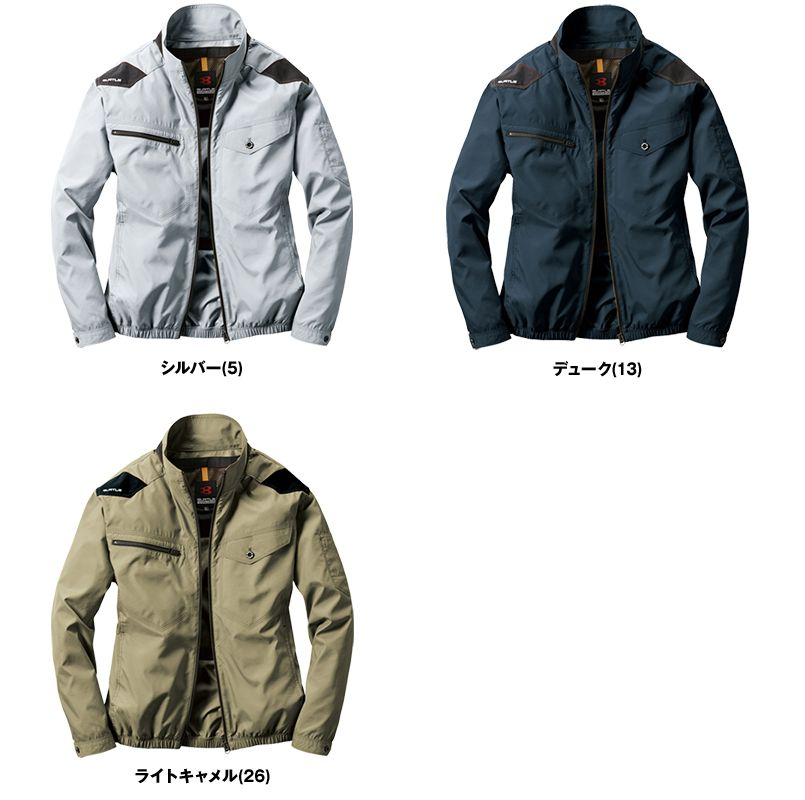[在庫限り]AC1121 バートル エアークラフト[空調服]ハーネス対応 長袖ブルゾン(男女兼用) ポリ100% 色展開