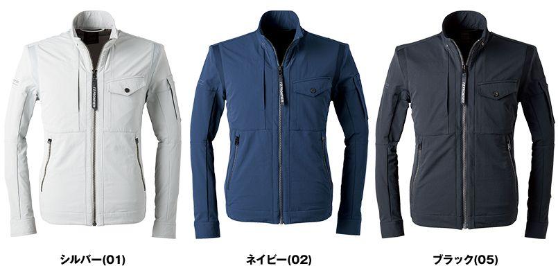 3570 アイズフロンティア ナイロン2WAYストレッチワークジャケット 色展開