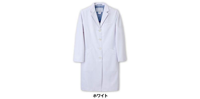 SD3040 ナガイレーベン(nagaileben) シングル診察衣長袖(女性用) 色展開