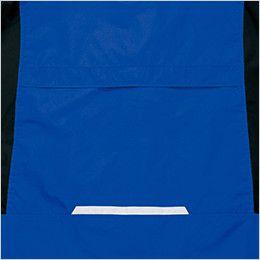 AZ6169 アイトス 光電子防風防寒ジャケット(フードイン)(男女兼用) バック反射テープ