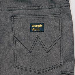 AZ64121 アイトス Wrangler(ラングラー) ノータックカーゴパンツ(男女兼用) ブランドロゴを象徴的に魅せるデザインステッチ