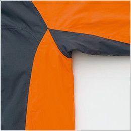 AZ8471 アイトス 業務用 防風防寒ショートコート[フード付・取外し可能] カッティング
