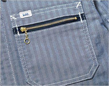 LWB03001 Lee ジップアップジャケット(女性用) ジッパー付き