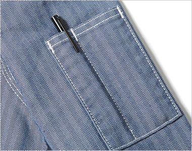 LWB03001 Lee ジップアップジャケット(女性用) ペン挿しポケット