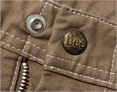 LWP66003 Lee ペインターパンツ(男性用) Leeロゴ入りのオリジナルボタン