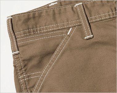 LWP66003 Lee ペインターパンツ(男性用) サイドには、出し入れしやすい斜めポケット。コインポケット付き
