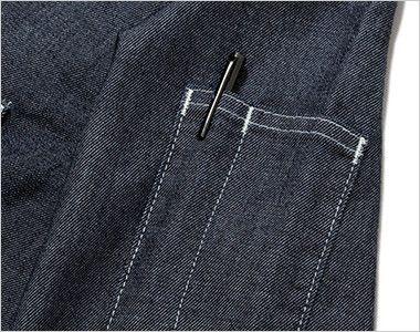 LWS43001 Lee ワーク長袖シャツ(女性用) ペン挿しポケット