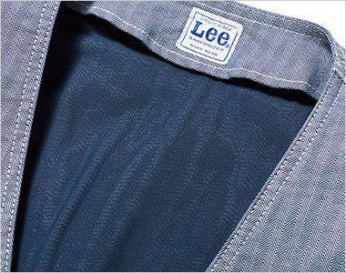 LWV19001 Lee ジップアップベスト(男女兼用) 通気性のよいメッシュ裏地