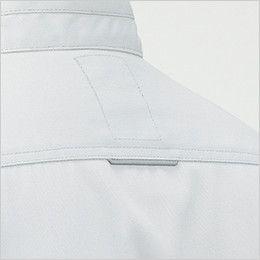 RJ0909 ROCKY ブルゾン(男女兼用) ツイル 背ヨークにも視認性・安全性を高める反射テープを使用