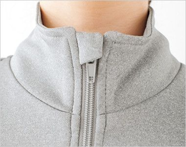 TJ0800U ナチュラルスマイル トレーニングジャケット(男女兼用) 金具が肌に触れない仕様