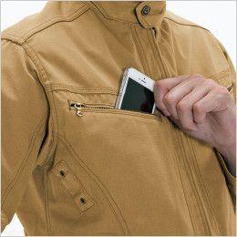 バートル 5301 T/C リップクロスメンズジャケット(男女兼用) Phone収納ポケット