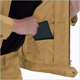バートル 5301 T/C リップクロスメンズジャケット(男女兼用) 内ポケット