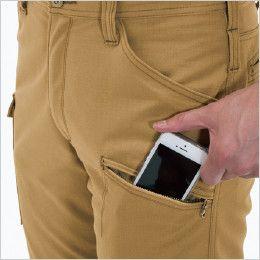 バートル 5302 T/C リップクロスメンズカーゴパンツ(男性用) Phone収納ポケット