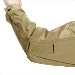 バートル 6071 [秋冬用]制電T/Cソフトツイルジャケット(JIS T8118適合)(男女兼用)  アームタック