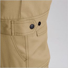 バートル 7092 [春夏用]ドビークロス半袖ジャケット(JIS T8118適合)(男女兼用) ドットアジャスター(脇ゴムなし)