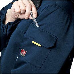 バートル 7111 パイピング防寒コート(男女兼用) ポケットペンさし