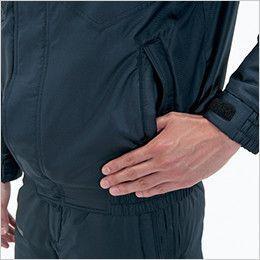 バートル 7210 [秋冬用]サーモトロン防寒ブルゾン(大型フード付)(男女兼用) 逆玉ポケット