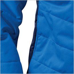 バートル 7410 防風ストレッチ軽量防寒ブルゾン(男女兼用) ウォームポケット