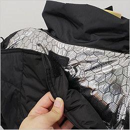 バートル 7510 リップクロス防寒ジャケット(大型フード付)(男女兼用) マジックテープ付きで邪魔にならない大型フード
