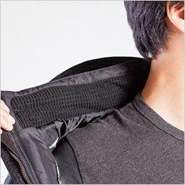 バートル 7510 リップクロス防寒ジャケット(大型フード付)(男女兼用) マイクロブロックフリース