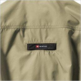 [在庫限り]AC1121P バートル エアークラフト[空調服]ハーネス対応 迷彩 長袖ブルゾン(男女兼用) ポリ100% フルハーネス ランヤード取付口